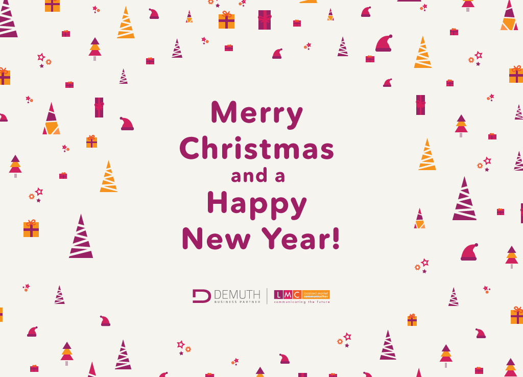 Merry Christmas And Happy New Year 2017 Demuth